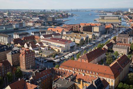 View from Our Saviour Church, Copenhagen; Denmark