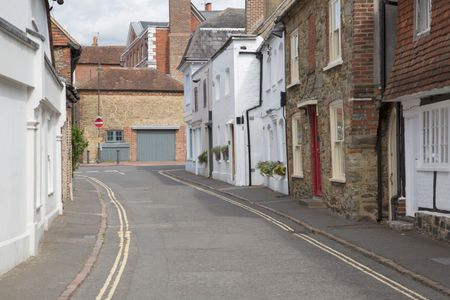 Empty Street; Petworth; England; UK