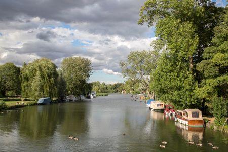 River Thames at Goring, England, UK
