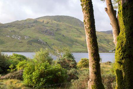 Kylemore Lough Lake; Connemara National Park; Ireland