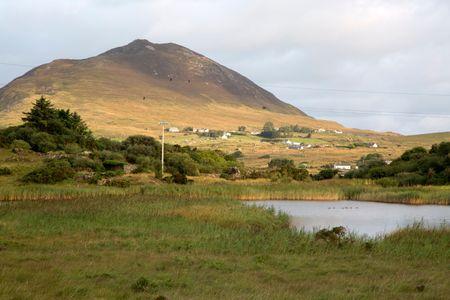 Tully Cross, Rinvyle, Connemara National Park, Ireland