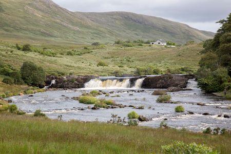 Aasleagh Falls, Killary Fjord; Connemara National Park; Ireland