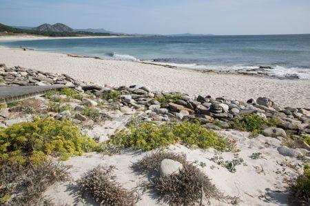 Beach in Galicia; Spain