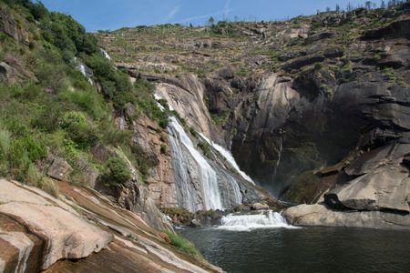 Waterfall in Galicia Spain