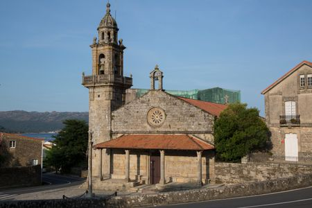 St Peters Church in Galicia; Spain