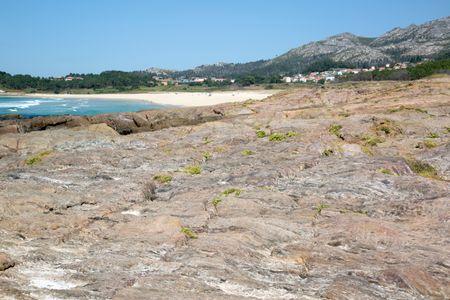 Beach and Rocks, Galicia; Spain