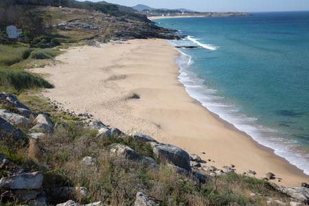 Wild Beach; Galicia; Spain