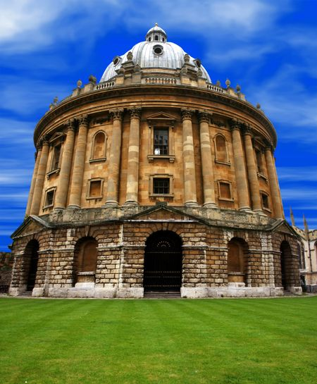 oxford - radcliffe camera, university library