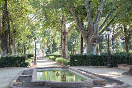 Cristina Gardens Park, Seville; Spain