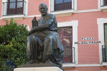 Montanes Statue (1923), Salvador Square, Seville; Spain