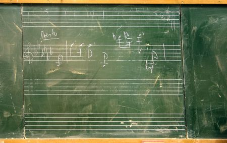 Musical Black board