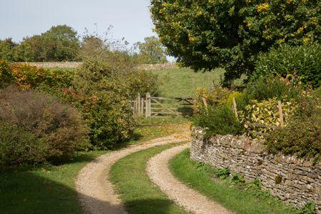 Country Track, Upper Slaughter; Cheltenham; England; UK