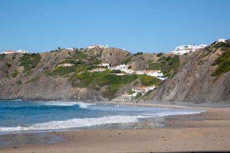 Arrifana Beach; Algarve; Portugal; Europe