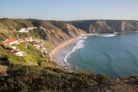 Clifftop Scene; Algarve; Portugal; Europe