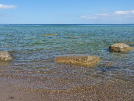 the Baltic sea in  poland near gdansk