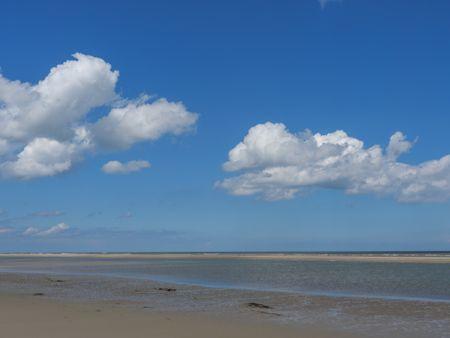 Baltrum Island in the North sea