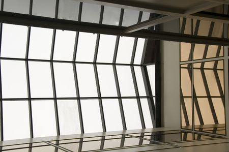 Skylight and reflecting walls