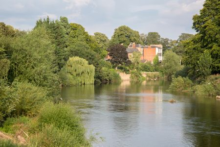River Wye; Hereford; England; UK