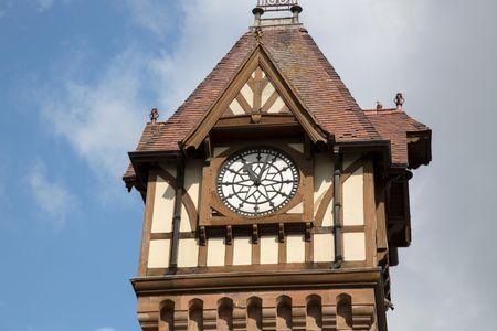 Clock Tower; Ledbury; Herefordshire; England; UK