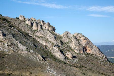 Mountain Ridge, Poza de la Sal; Burgos; Spain