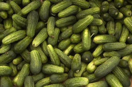Pickles at farmer's market