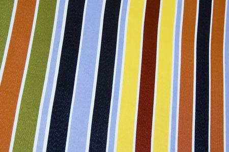 Beach umbrella: close-up of striped fabric