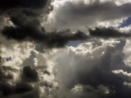 Volatility at a glance: Uncertainty of weather on a summer afternoon