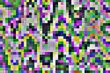 Snazzy solarized mosaic abstract