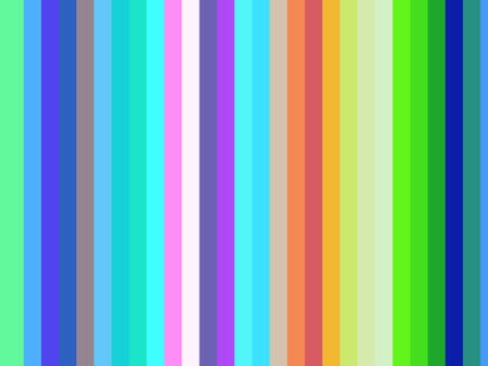 Abstract of parallel stripes with a summery palette
