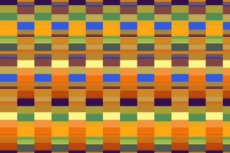 Parti-colored geometric abstract of striped parallels for decoration and background