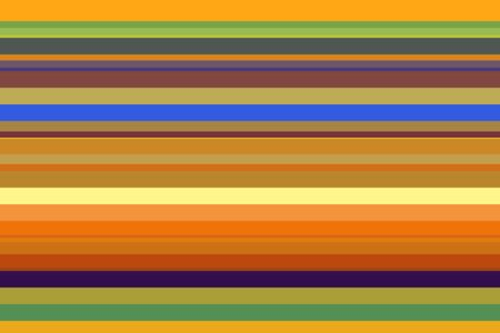 Multicolored geometric abstract of solid parallel stripes
