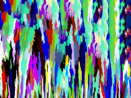 Abstract eye candy of liquid spatters in various colors, for themes of grunge and pop art, variety, and nonconformity
