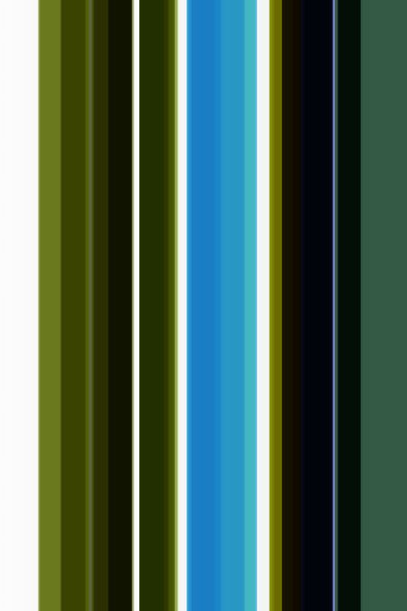 Parti-colored abstract of parallel stripes of various widths