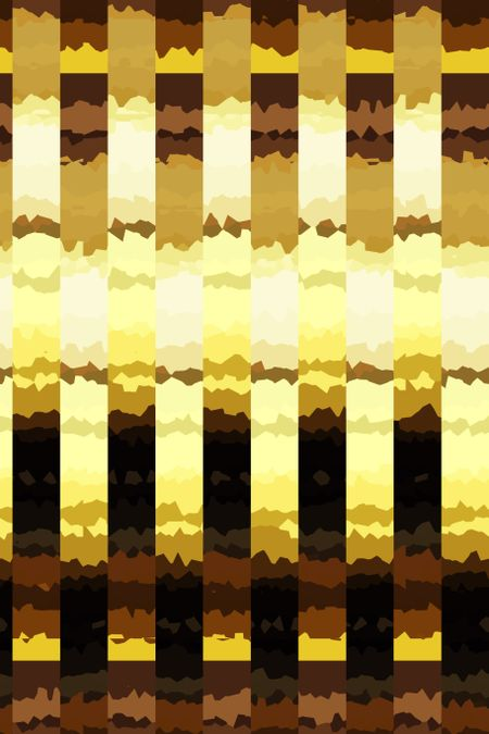 Striped abstract with desert theme