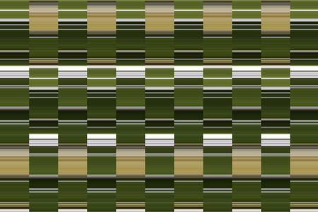 Predominantly green and white abstract pattern of striped columns for decoration and background with themes of geometric order, alternation, and repetition