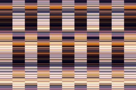 Multicolored geometric abstract of columns with many short stripes, like a large bar code, to illustrate themes of alternation and complexity