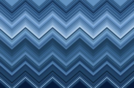 Geometric zigzag pattern for decoration and background with themes of repetition, symmetry, or synergy