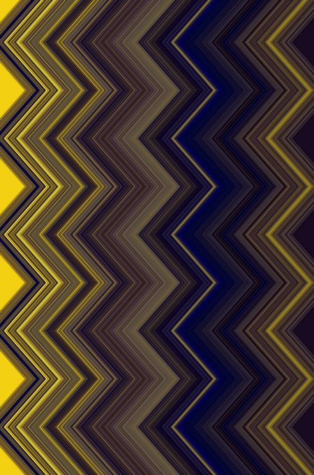 Varicolored zigzag abstract for decoration and backgrounds with themes of chromatic variation within  uniformity of pattern