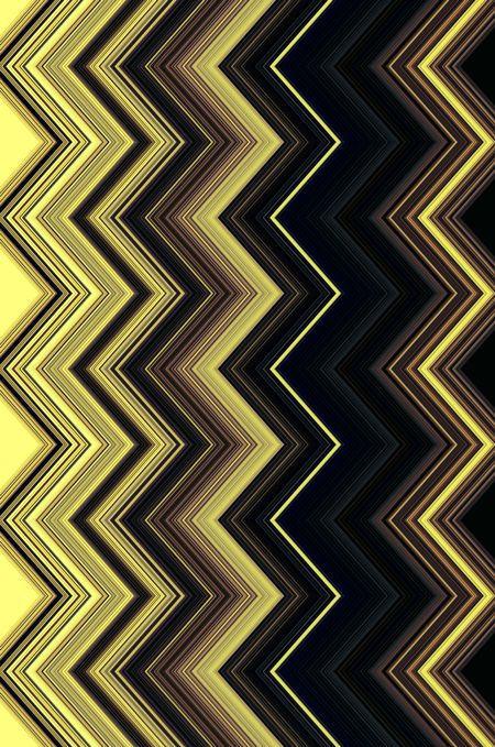 Geometric pattern of successive zigzags for themes of repetition in design