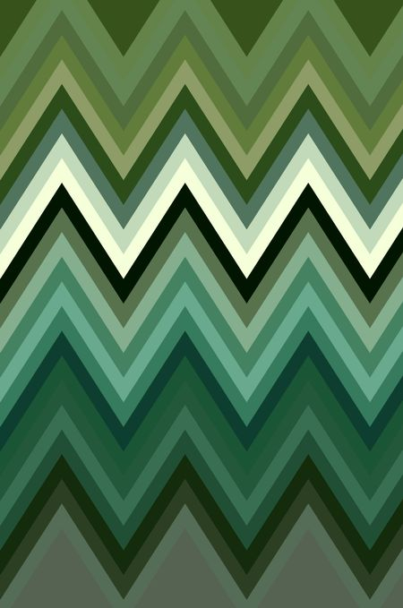 Geometric zigzag pattern for decoration and background with motifs of alternation or repetition