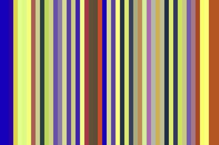 Multicolored geometric abstract of parallel stripes for themes of variety, regularity, alternation