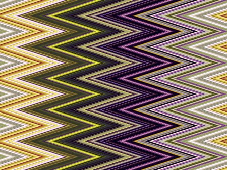 Multicolored zigzag pattern for decoration and background