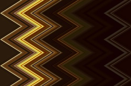 Dramatic abstract zigzag pattern with autumnal colors