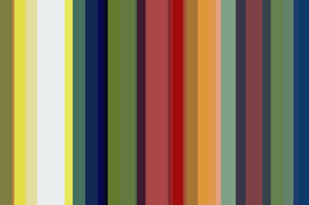 Multicolored abstract of parallel vertical stripes for decoration and background