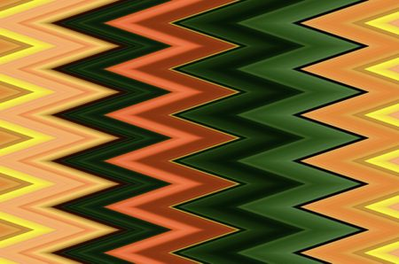 Multicolored geometric zigzag pattern with pizzazz, for decoration or background with motifs of repetition, alternation, synergy
