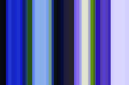 Geometric abstract of parallel vertical stripes with predominance of blues
