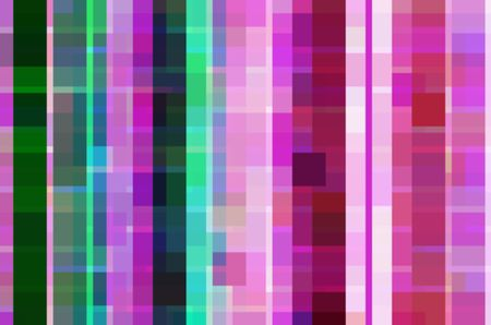 Multicolored abstract mosaic of squares and rectangles for themes of variety, multiplicity, urban geometry