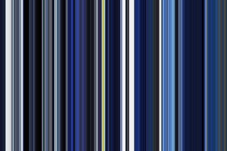 Decorative multicolored abstract pattern of parallel vertical stripes with predominance of blue and blue-green