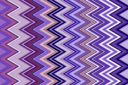 Varicolored geometric pattern of zigzag stripes for backgrounds and decoration with themes of repetition, conformity, recurrence or variation