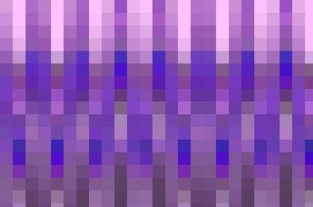 Geometric abstract mosaic of rows and columns of squares for decoration and background